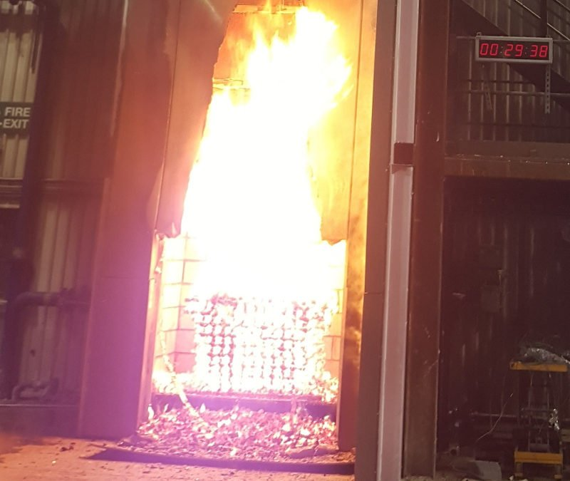 Aluminium Fire Test Results Coming Soon