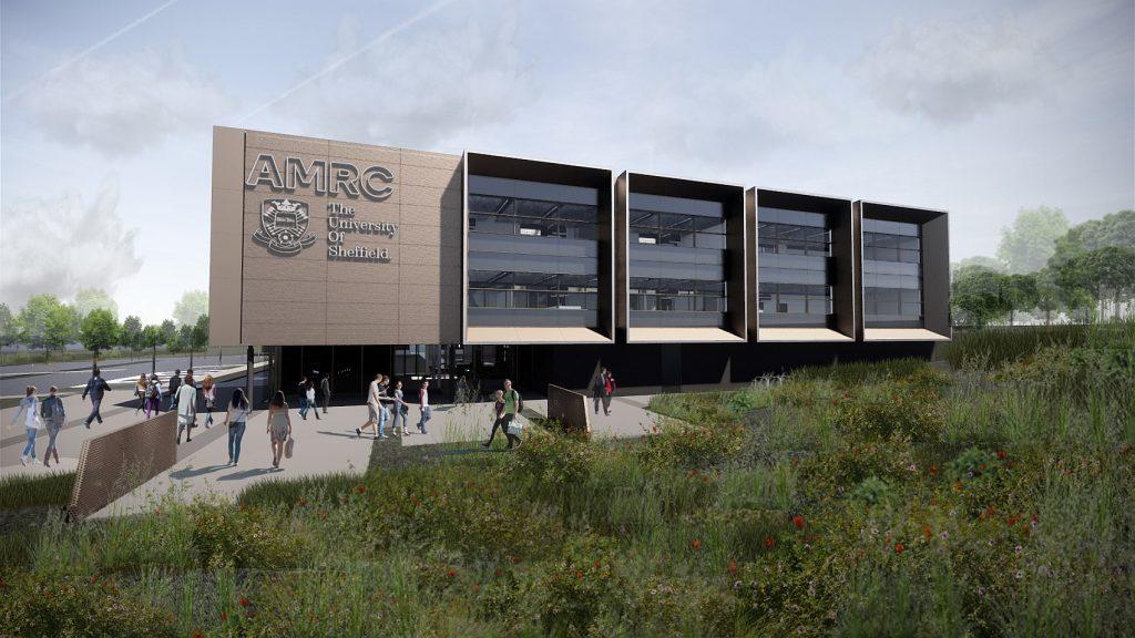 Fusion Facades Lands University Of Sheffield's AMRC